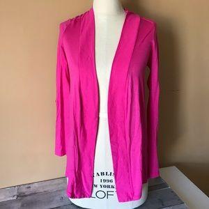 Splendid Pink Lightweight Open Cardigan - 1298